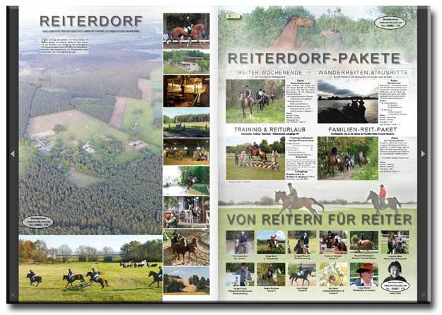 Reiturlaub im Reiterdorf digitaler Katalog