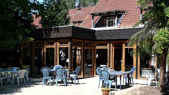 Gruppenhaus im Reiterdorf Lüneburger Heide