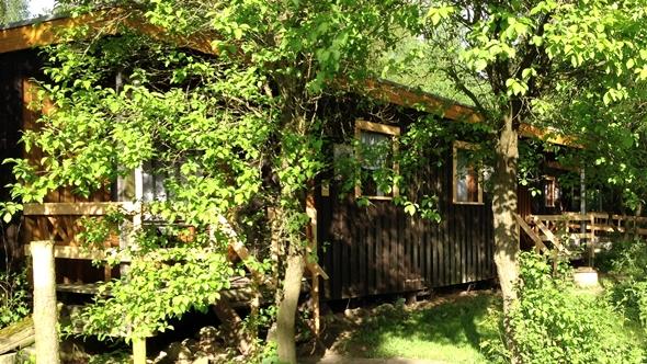Rustikale Holzbungalows im Reiterdorf Lüneburger Heide für 2 Personen