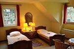 Schlafzimmer des Reiterhof Appartement für 2 - 3 Personen im Reiterdorf Lüneburger Heide