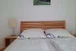 Kleines Schlafzimmer des Komfortferienhaus für 4 Personen im Reiterhof Lüneburger Heide