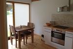 Kochbereich der Luxus Ferienwohnung für 2 Personen im Reiterdorf Lüneburger Heide