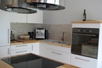 Küche des Komfortferienhaus für 4 Personen im Reiterhof Lüneburger Heide