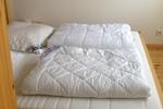 Schlafzimmer der Luxus Ferienwohnung für 2 Personen im Reiterdorf Lüneburger Heide
