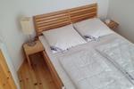 Schlafzimmer des Komfortferienhaus für 4 Personen im Reiterhof Lüneburger Heide