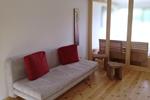 Wohnbereich der Luxus Ferienwohnung für 2 Personen im Reiterdorf Lüneburger Heide