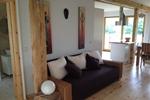 Wohnbereich des Komfortferienhaus für 4 Personen im Reiterhof Lüneburger Heide