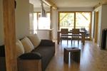 Wohnzimmer des Komfortferienhaus für 4 Personen im Reiterhof Lüneburger Heide