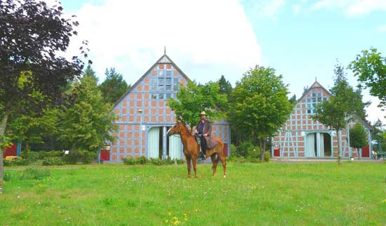 Rundlingsdorf Reiterhof Wendland