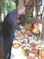 Frühstücksbuffet für den Cowboy - Reiterhof Wendland