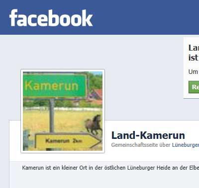Reiturlaub bei Facebook