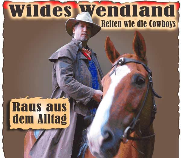 Elbtalaue Wendland Wanderreiten